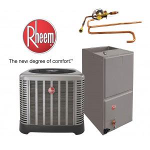 Rheem 1.5 Ton Split System 16 SEER