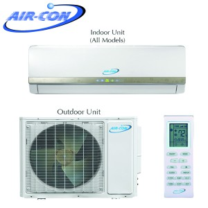 Air Con Blue Series - 24K - 24000 BTU Ductless Mini Split