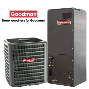 Goodman 5 Ton - 16 SEER - AC Straight Cool Split System